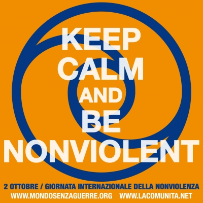 Keep Calm, Be Nonviolent